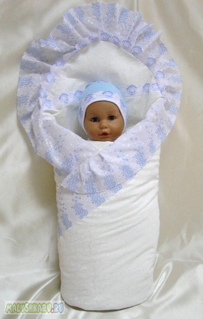 Как сшить пододеяльник для новорожденного на выписку 403