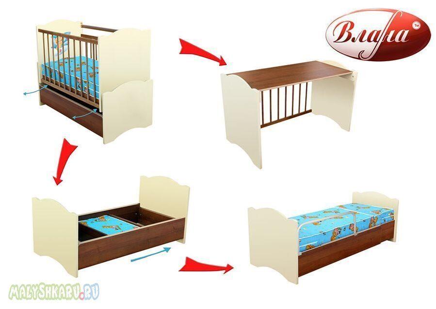 Кровать трансформер как из кроватки сделать кровать