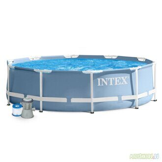 Каркасный бассейн Intex 28702 Prism Frame Pool 305x76