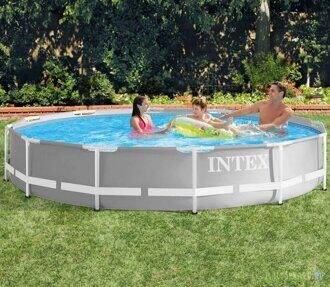 Каркасный бассейн Intex 26710 Prism Frame Pool 366x76 см