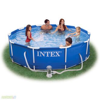 Каркасный бассейн Intex Metal Frame Pool 366x76 56996/28212