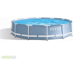 Каркасный бассейн Intex 28710 Prism Frame Pool 366x76 см