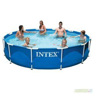 Каркасный бассейн Intex 28210 Metal Frame Pool 366x76