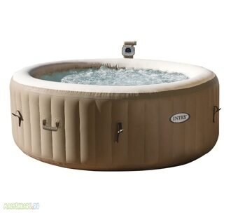 СПА-бассейн Intex 28404 PureSpa Bubble Massage 196x71