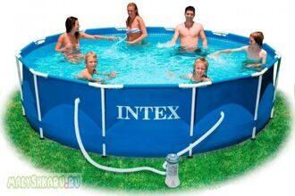 Каркасный бассейн Intex Metal Frame Pool 366x99 54424 / 28218