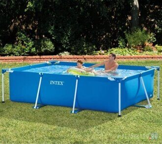 Каркасный бассейн Intex 28272 Metal Frame Pool 300x200x75