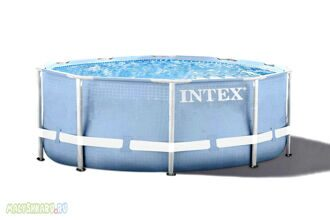 Каркасный бассейн Intex 28700 Prism Frame Pool 305x76 см