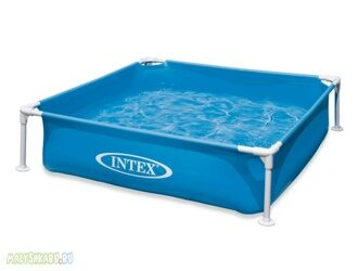 Каркасный бассейн Intex 57172 Mini Frame Pool 122x122x30