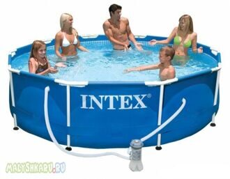 Каркасный бассейн Intex 28202 Metal Frame Pool 305x76