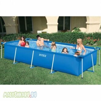 Каркасный бассейн Intex Metal Frame Pool 450x220x84 58982 / 28274