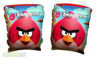 "Нарукавники ""Angry Birds"" Bestway 96100"