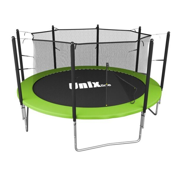 Батут уличный Unix line Simple 10 ft inside Green диаметр 305 см