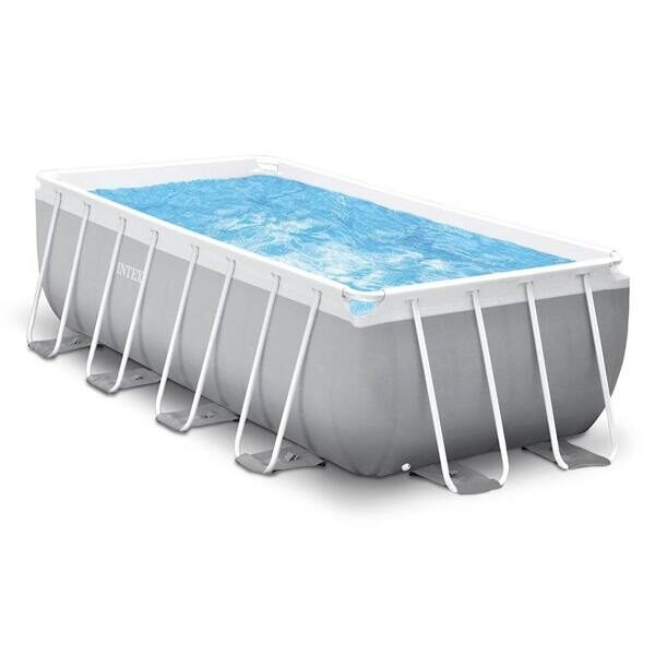 Бассейн каркасный Intex 26790 Rectangular Prism Frame Pool 400x200x122 см