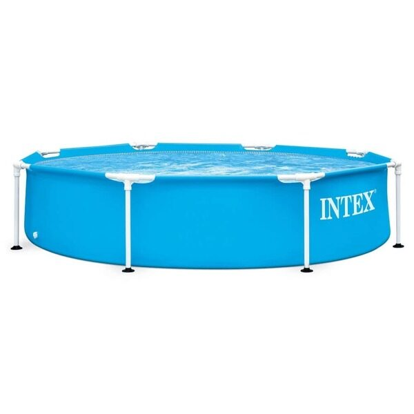 Каркасный бассейн Intex 28205 Metal Frame размер 244х51 см