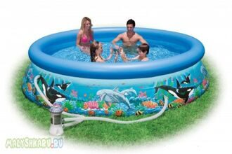 Надувной бассейн Intex Ocean Reef Easy Set Pool 305x76 54902
