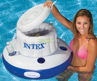Плавающий бар Intex Mega Chill Inflatable Cooler 58820