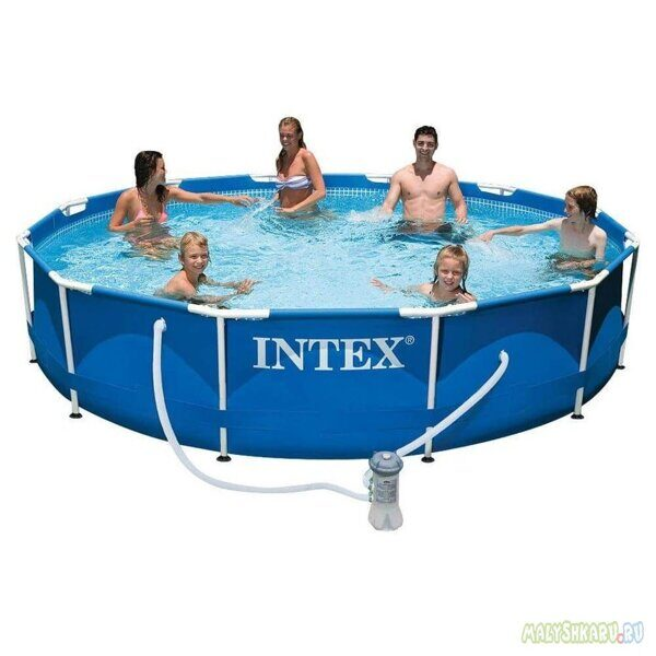 Каркасный бассейн Intex 28212 Metal Frame Pool 366x76