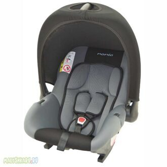 Автокресло Nania ROCK ECO BABY RIDE GRIS/NOIR