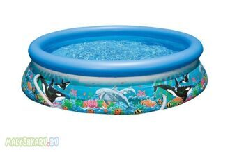 Надувной бассейн Intex Ocean Reef Easy Set Pool 366x76 54904