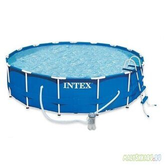 Каркасный бассейн Intex 28218 Metal Frame Pool 366x99