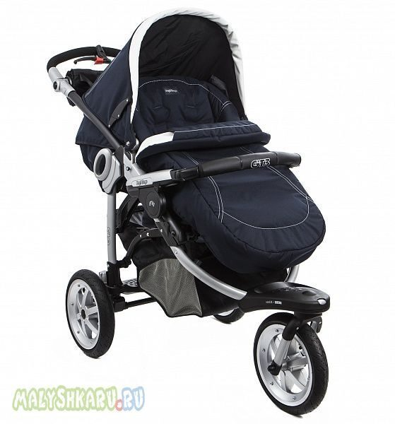 Прогулочная коляска Peg-Perego GT3 Naked Completo