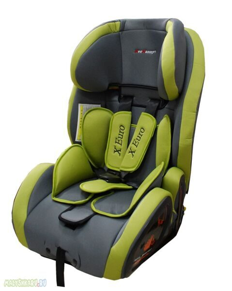 NEONANNY АВТОКРЕСЛО XEURO ISOFIX от 9 до 36 кг.