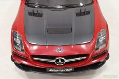 Электромобиль RiverToys Mercedes-Benz SLS A333AA Карбон