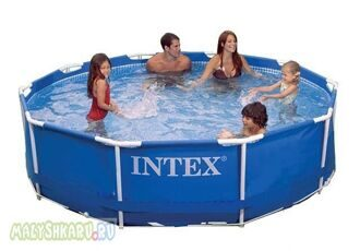 Каркасный бассейн Intex Metal Frame Pool 305x76 56997 / 28200