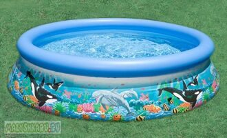 Надувной бассейн Intex Ocean Reef Easy Set Pool 305x76 54900