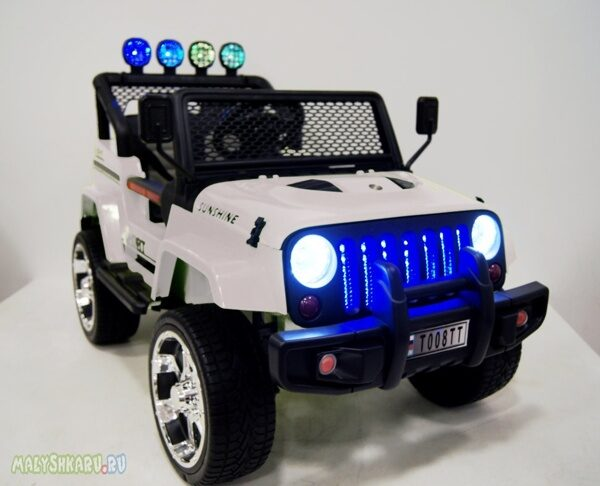 Электромобиль RiverToys Jeep T008TT 4WD