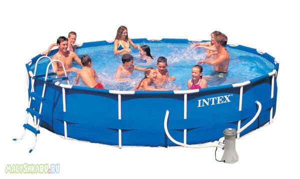 Каркасный бассейн Intex 28232 Metal Frame Pool 457x91